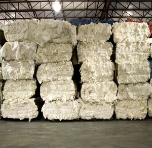 Nonwoven Material Bales